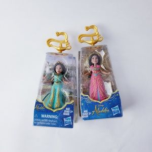 Aladdin Jasmine mini figure lot